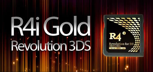 R4i Gold SDHC 3DS